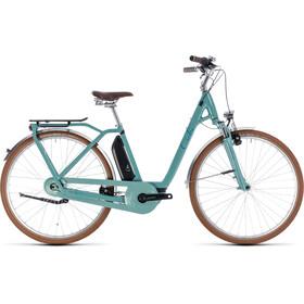 Cube Elly Cruise Hybrid 400 - Vélo de ville électrique - Easy Entry Bleu pétrole